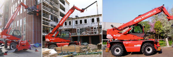 Manitou MRT 2150 M (Roterend)