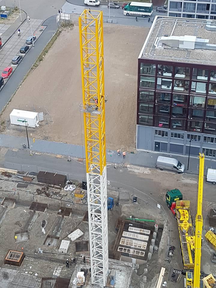 Opbouw Torenkraan bij Nautique Living  - Foto 1